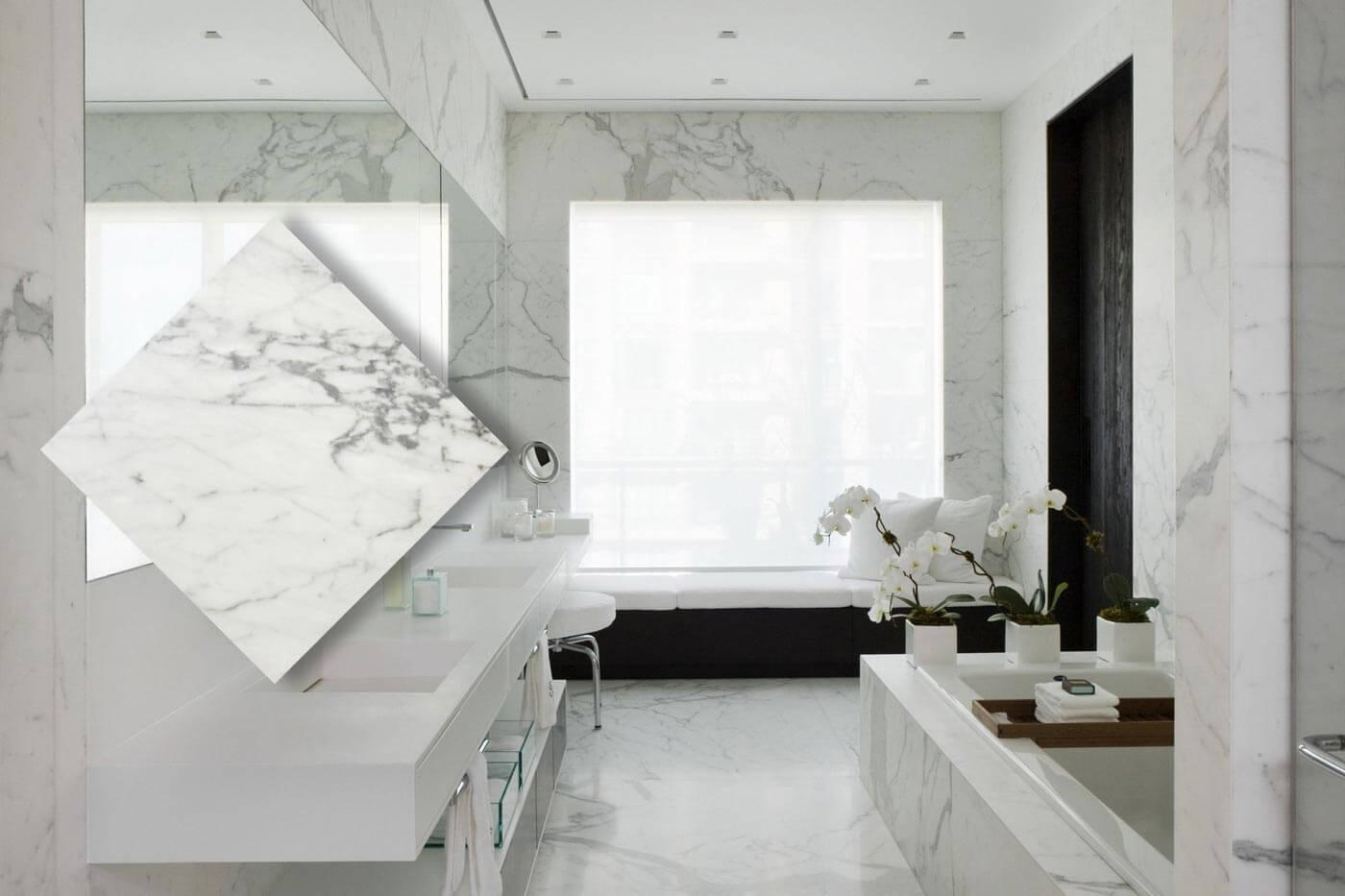 Carrara mermer